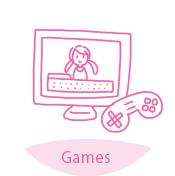 ゲーム内のキャラクターに利用する
